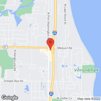 Map of Bed Bath & Beyond at 11110 North Port Washington Road, Mequon, WI 53092