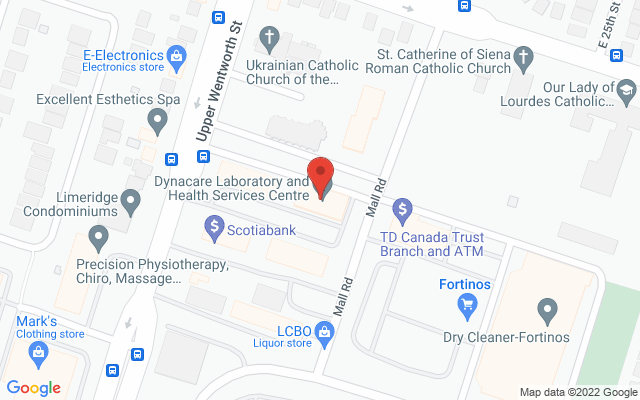 Limeridge Physiotherapy and Rehabilitation – pt Health Static Google Map Wide Version