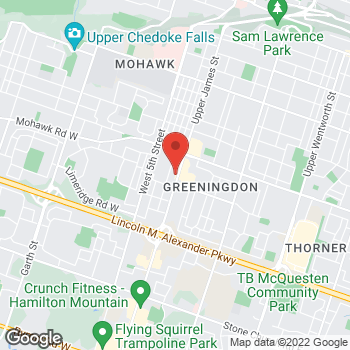 Map of Tim Hortons at 894 Upper James St S, Hamilton, ON L9C 3A5