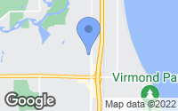 Map of Mequon, WI