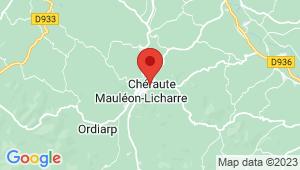 Carte de localisation du centre de contrôle technique CHERAUTE