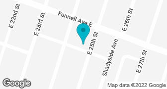 Google Map of Hamilton location