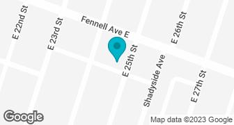 Google Map of Hamilton location
