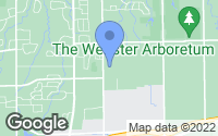 Map of Webster, NY