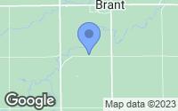 Map of Brant, MI