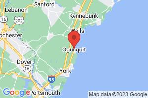 Map of Ogunquit Beach