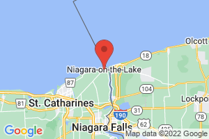 Map of Niagara on the Lake