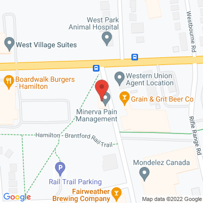 West-End Physiotherapy Clinic Static Google Map