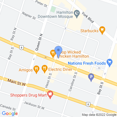 Big Bee Convenience Map