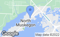 Map of Muskegon, MI