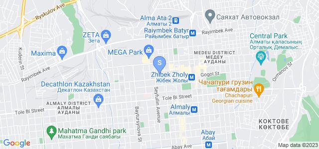 Location of Kazzhol on map