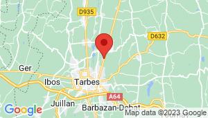 Carte de localisation du centre de contrôle technique ORLEIX