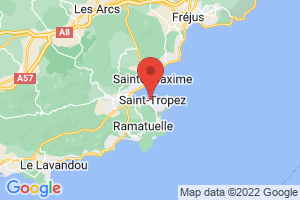Map of Saint-Tropez