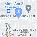 map for Almaty Underground (Metro), Almaty, Kazakhstan