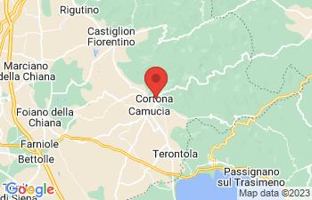Map of Cortona