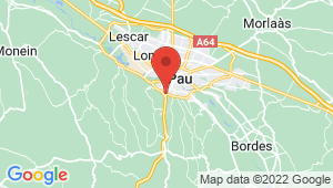 Carte de localisation du centre de contrôle technique JURANCON