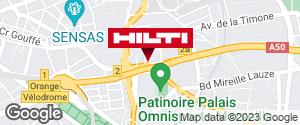 Get directions to Espace Hilti - La Plateforme du Bâtiment - Marseille 10ème