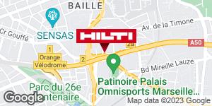 Espace Hilti - La Plateforme du Bâtiment - Aubagne (ZI St Mitre )