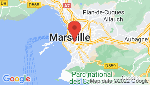 Carte de localisation du centre de contrôle technique MARSEILLE