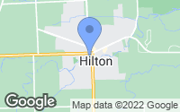 Map of Hilton, NY