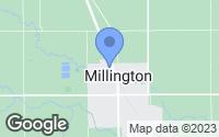 Map of Millington, MI