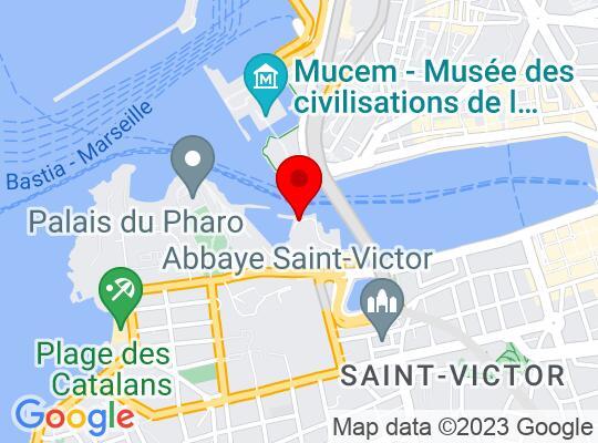 Google Map of Marseille