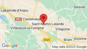 Carte de localisation du centre de contrôle technique SAINT MARTIN LALANDE
