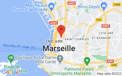 2 Rue Fauchier, 13002 Marseille, France