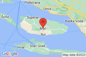 Map of Brac