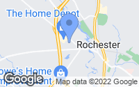 Map of Rochester, NH