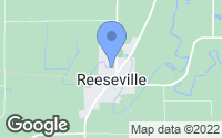 Map of Reeseville, WI