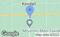 Map of Kendall, NY