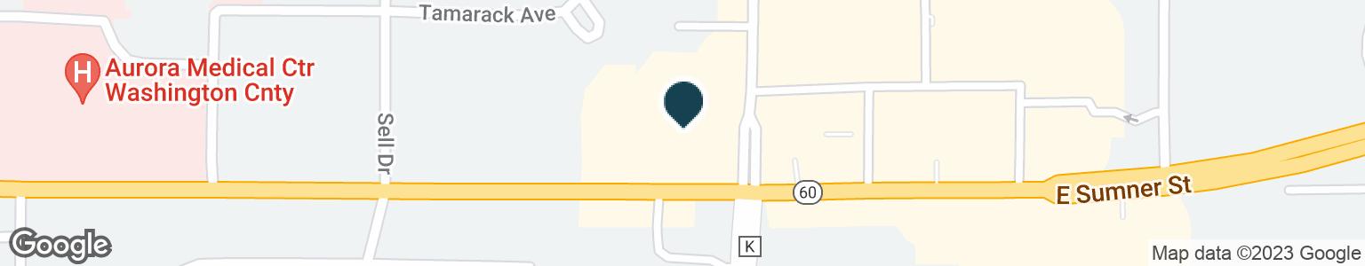 Google Map of1400 E SUMNER ST