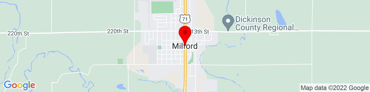 Google Map of 43.32469, -95.15