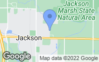 Map of Jackson, WI