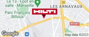 Espace Hilti - La Plateforme du Bâtiment - Marseille 14ème
