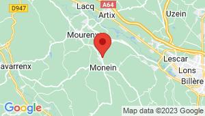 Carte de localisation du centre de contrôle technique MONEIN