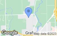 Map of Grafton, WI