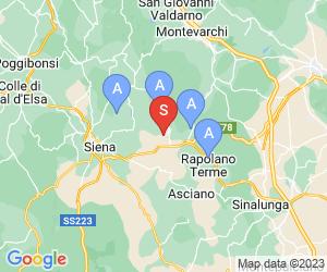 Karte für Villa Curina Resort