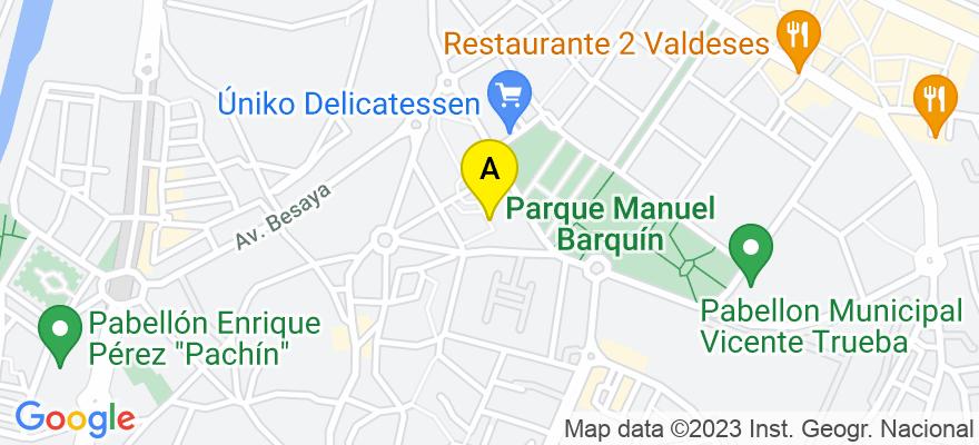 situacion en el mapa de . Direccion: Calle Pablo Iglesias número 3 - 3º A, 39300 Torrelavega. Cantabria