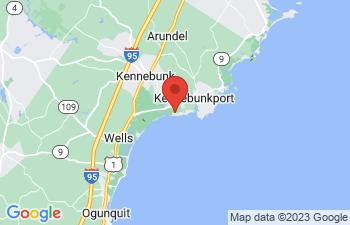 Map of Kennebunk Beach
