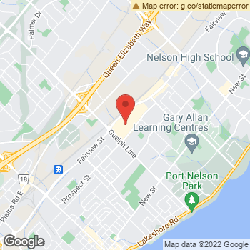 Map of Dr. Uma Ratnasingam at 777 Guelph Line, Burlington, ON L7R3N2