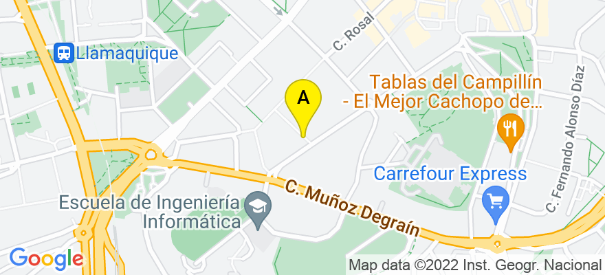 situacion en el mapa de . Direccion: C/ Pérez de Ayala 1, 2º, 33007 Oviedo. Asturias