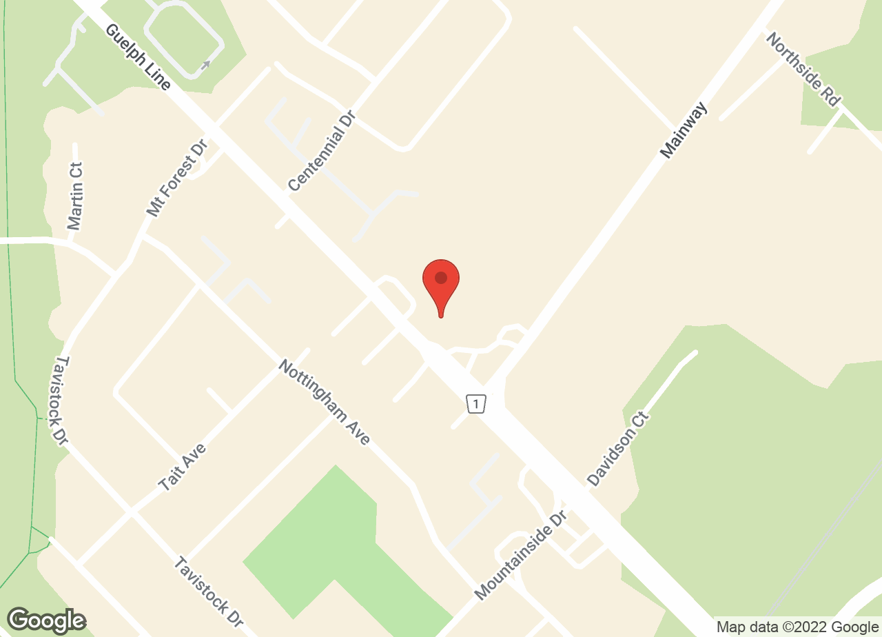 Google Map of Burlington Animal Hospital