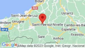 Carte de localisation du centre de contrôle technique SAINT PEE SUR NIVELLE