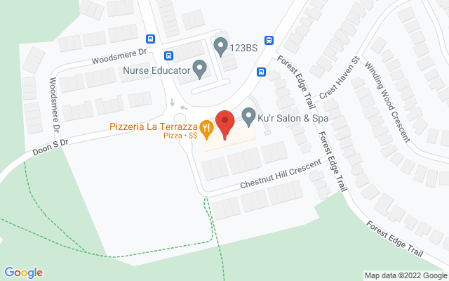Strive Physiotherapy & Performance Static Google Map Wide Version