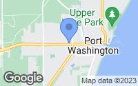 Map of Port Washington, WI