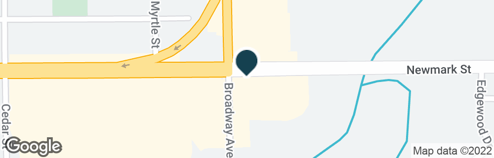 Google Map of3411 BROADWAY AVE