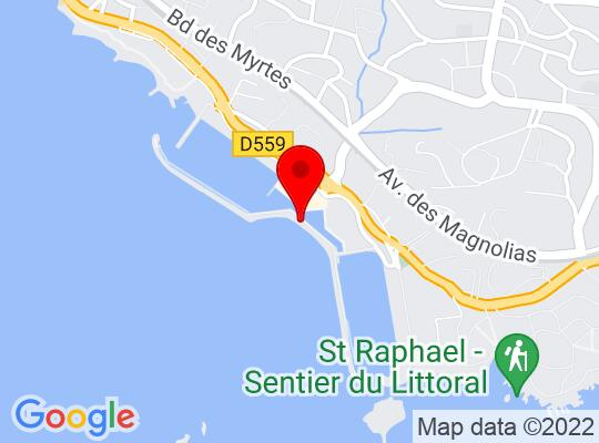 Google Map of Saint Raphael