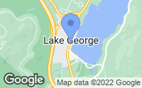 Map of Lake George, NY